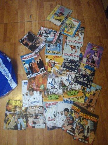 Zlatne baletamke - Srbija: E ovako imam 50 komada stripova uglavnom novi sa tim imam i cetri kom