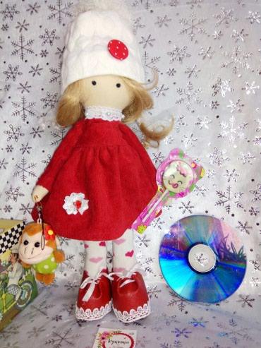 Интерьерная игрушка кукла новогодний подарок ручной работы в Бишкек