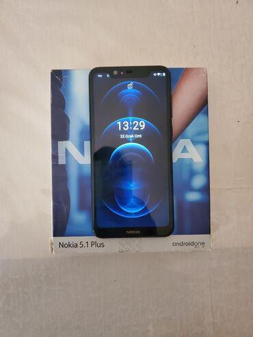 телефон fly bl9205 в Азербайджан: Nokia 5.1 Plus 3/32 . yaxwi veziyetdedir. problemi yoxdur. karopkasi