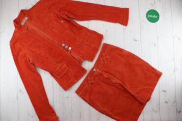 Жіночий яскравий джинсовий костюм (жакет та спідниця) MeS Design    До