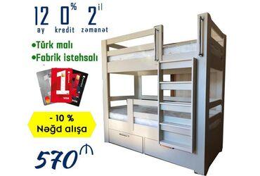 İki̇-mərtəbəli̇ uşaq yataği - 570 aznnəğd satışa 10% endirimnisyə