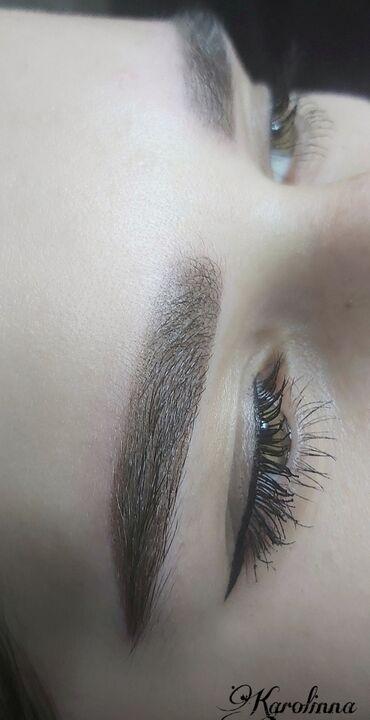 Перманентный макияж бровей!качественный татуаж в любой технике(теневая