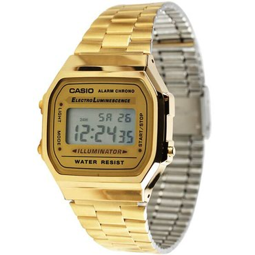 Мужские Золотые Наручные часы Casio в Бишкек