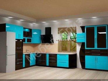 Мебель на заказ: кухни, шкафы-купе, гостиные, уголок школьника. Сборка в Бишкек