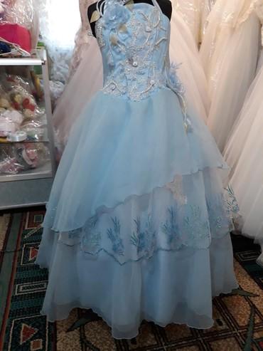платья на прокат бишкек для детей в Кыргызстан: Детское платье, примерно на 8-10лет. Прокат 700спродажа 1600с