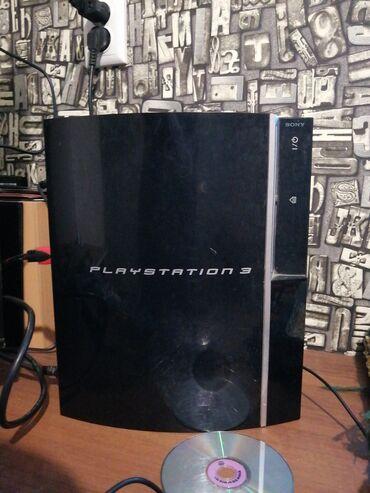 Плойка - Кыргызстан: Продам PlayStation 3 FAT 160gbВсе работает!Внутри 5 игрGTA 5Call of