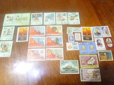 Марки в Кыргызстан: Марки советские продаю