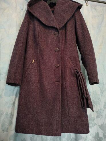 Кашемировое пальто.Осень-весна.Размер 48-50