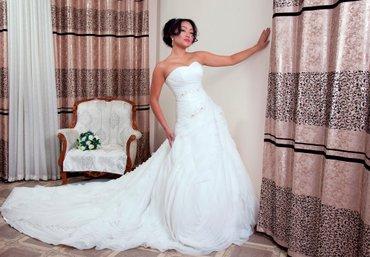 свадебное украшения в Кыргызстан: Свадебное платье на прокат продаж в подарок фата+украшения