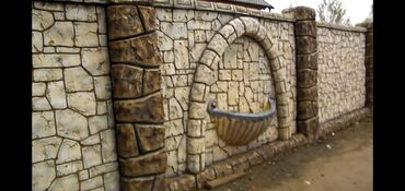 Dekorat ev isleri, fasaddekorativ aqaclar heyet,baq evleinin,hasar p