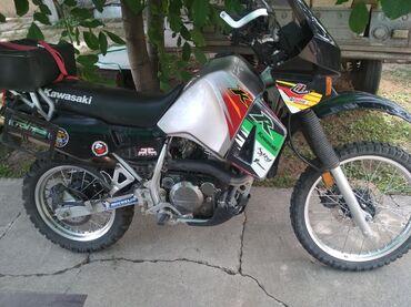 Kawasaki - Кыргызстан: Продаю мотоцикл Kawasaki klr650. Настоящий эндуро! Хорошо едет по