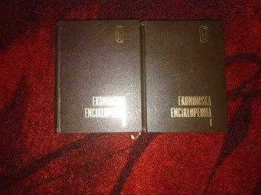 Prodajem komplet ( dve knjige) ekonomske enciklopedije. Ocuvana, - Belgrade