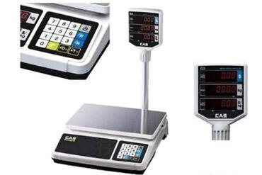 Весы cas pr-30p — качественные настольные весы с набором базовых
