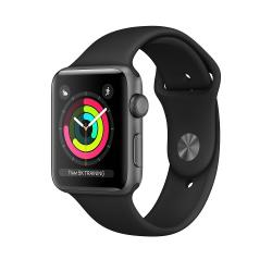 spa-ukhod в Азербайджан: Apple Watch Series 3 (42mm,Space Gray Aluminum Case with Black Sport