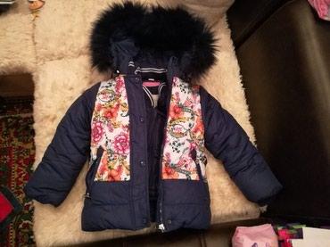 Куртка зимняя, теплая с подкладом. на в Бишкек