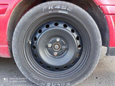 Bentley continental gt 4 at - Кыргызстан: Срочно!! СРОЧНО!!!!Продаю отличные штампованные диски R 16 с 4-мя бо