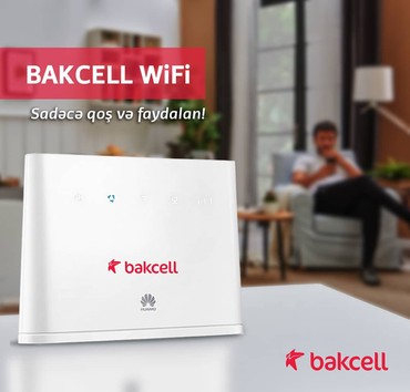 Bakı şəhərində 4G Router Sürətli İnternet