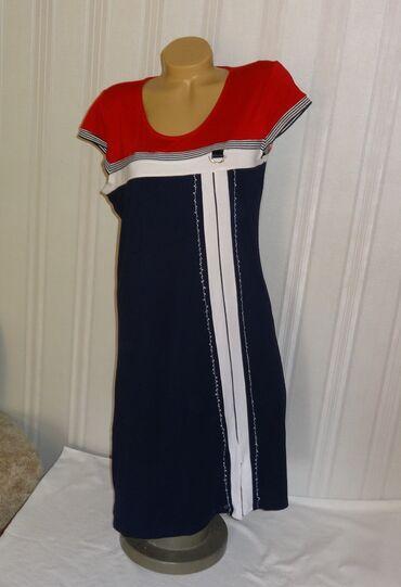 Платье трикотаж р. 46-48 Турция б/у в отличном состоянии