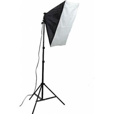 стяжка пола бишкек цена в Кыргызстан: Продаётся студийный свет 1 шт. Полный комплект. Стойка, лампа, софт