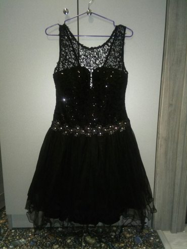 Платье, турецкое, очень стильное. Подойдёт на любую вечеринку. Размер