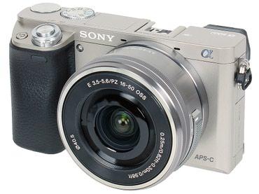 Аренда фотоаппарата Sony alpha 6000 Стандарт беззеркальная в Бишкек