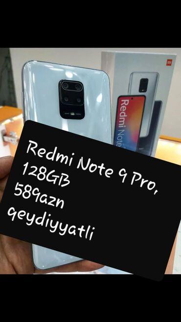 Yeni Xiaomi Redmi Note 9 128 GB ağ