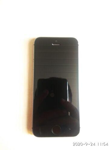 Apple Iphone - Azərbaycan: İşlənmiş iPhone 5s 16 GB Boz (Space Gray)