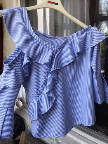 нарядные блузки в Кыргызстан: Блузка нарядная очень красивая, приятный материал можно носить хоть с