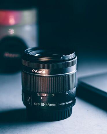 Продаю объектив Canon 18-55 IS STM F4-5.6. Торг уместен!Объектив в