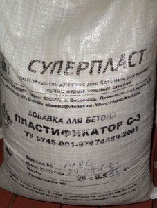Пластификатор С-3 (суперпластификатор) в Бишкек