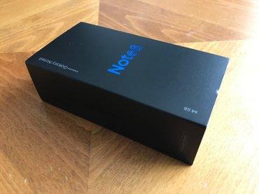Samsung Galaxy Note8 SM-N950U - 64GB - Μαύρο μεσημεριανό (AT & T) in Athens
