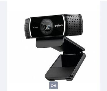 Веб-камеры - Кыргызстан: Logitech C922 Pro Stream .   Камера высокого разрешения Logitech C 922