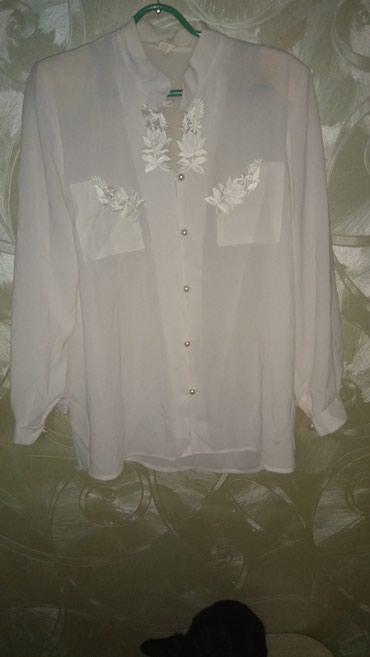 блузки с коротким рукавом в Кыргызстан: Блузка женская. Длинный рукав. Размер от 42-52