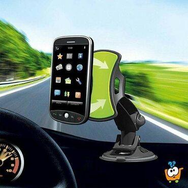 GripGo hendsfree držač omogućava da lako pogledate na Vaš telefon, a