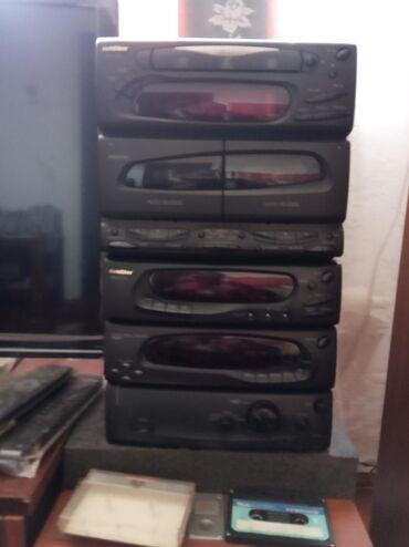 диски музыка в Кыргызстан: Продаю музыкальный центр Голдстар без колонок выходная мощность 2-90