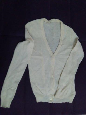 VUNENI džemper, svetlo žoto-bela boja - Beograd