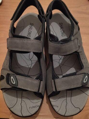 Sandale lepe otvorene sive lagane br. 43, Bg centar Veoma lepe i kva