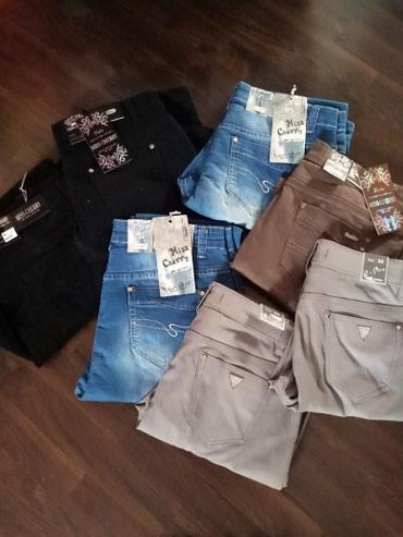 Nove pantalone za punije dame. Crne veličina 36, plave veličina 35 i - Ruma