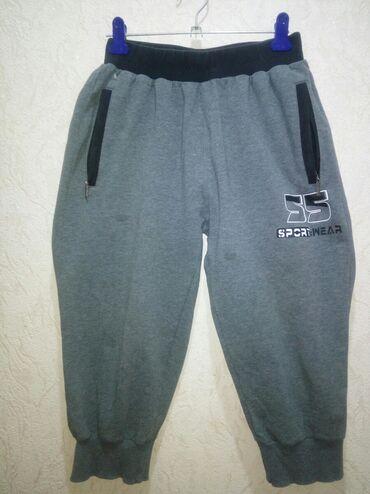 М / 160 / 85 укороченные брюки, Турция, трикотажные, легкие, теплые