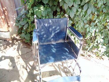 Инвалидные коляски - Кыргызстан: Продаётся инвалидная коляска. Покупали около месяца назад в Немане за