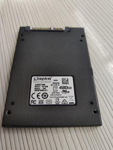 Продаю SSD диск Kingston SA400S37 на 480гб. Использовался всего 33