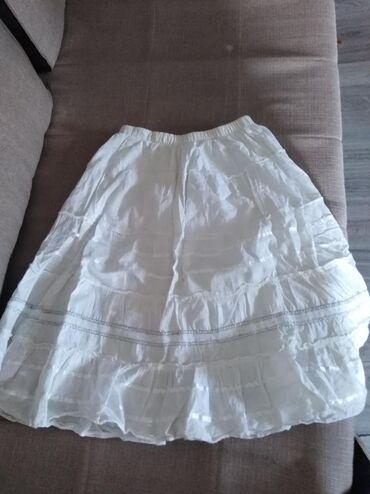 Prelepa suknja, pamučno platno, kvalitetna.Veličina može i S i M i L