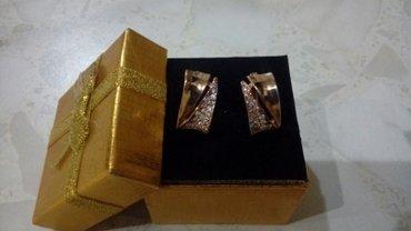 Продаю золотые серьги 583 пробы в Бишкек