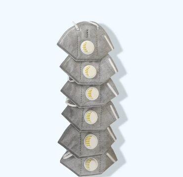 приточный клапан бишкек in Кыргызстан   АВТОЗАПЧАСТИ: Маски KN95 с клапаном, в пачке 10шт.Одноразовые маски и респираторы в