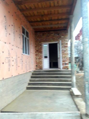 Обшивка фронтона утепляем дома делаем все виды строительных работ в Бишкек