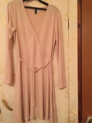 туника трикотажная с длинным рукавом в Кыргызстан: Платье Повседневное HM L