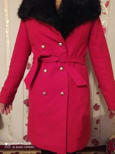 пальто в Кыргызстан: Пальто воротник снимается
