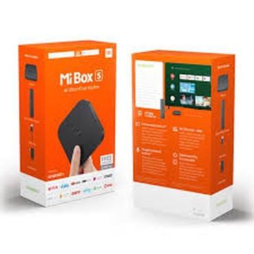 аудио ресивер в Азербайджан: Xiaomi TV BOX SYeni, bagli qutuda, global versiya Magazamiz