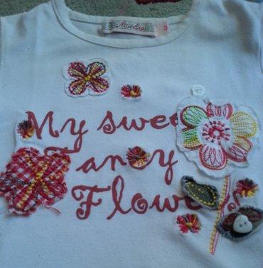 Miss Ergi majica sa cveticima. Jako slatka, deblji pamuk, broj 3 - Belgrade