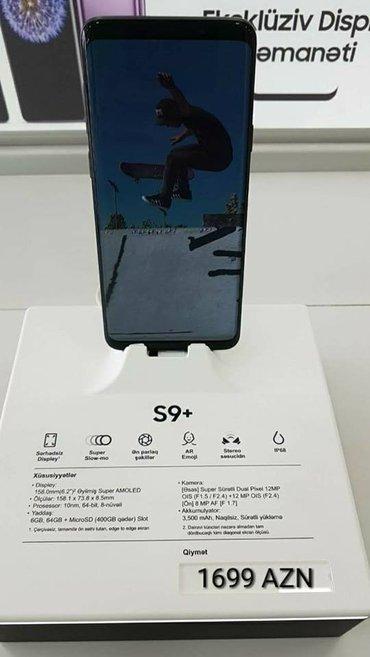 Bakı şəhərində Samsung Galaxy S9 Plus QEYDİYYATLİDİ